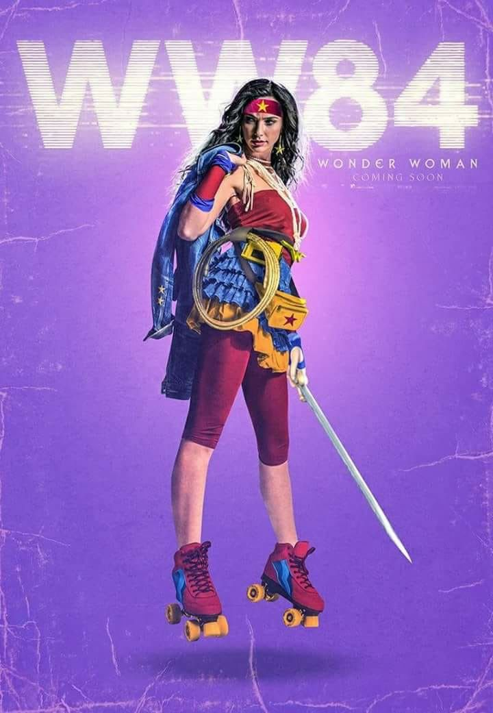 Image result for wonder woman 1984 fan poster