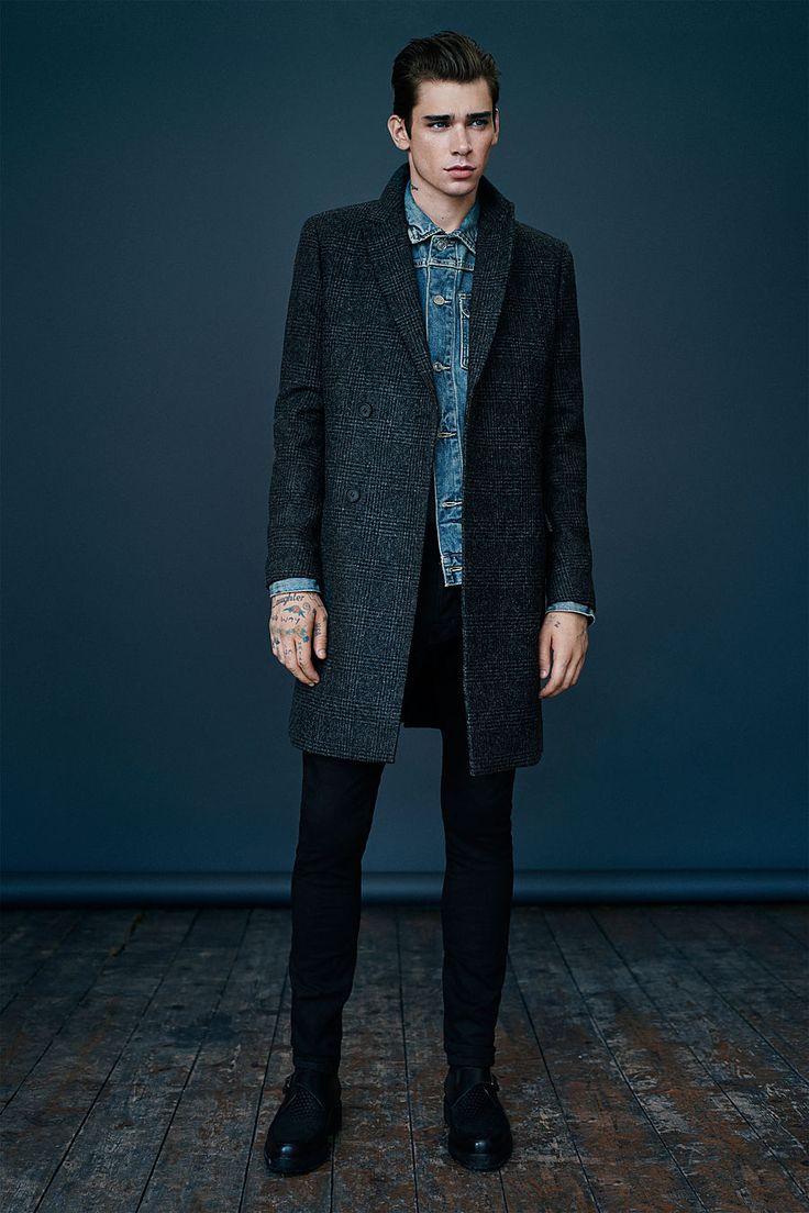 ALLSAINTS: Men's lookbook 2014 October