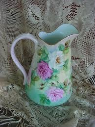 Vintage water pitcher