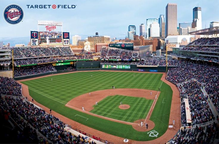 twins stadium MLB Minnesota Twins Target Field Stadium
