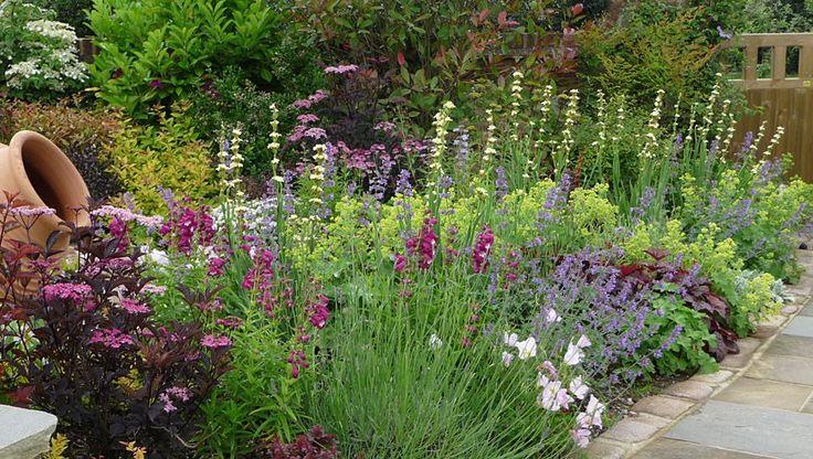 Pete sims english garden borders pinterest for English garden ideas designs