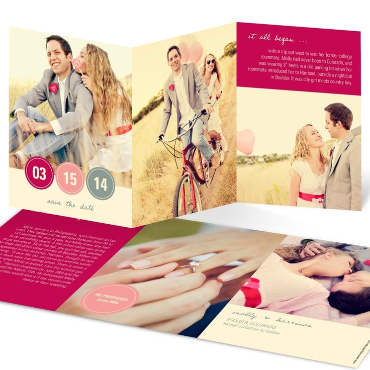 These are @peartreegreet' best-selling save the dates!