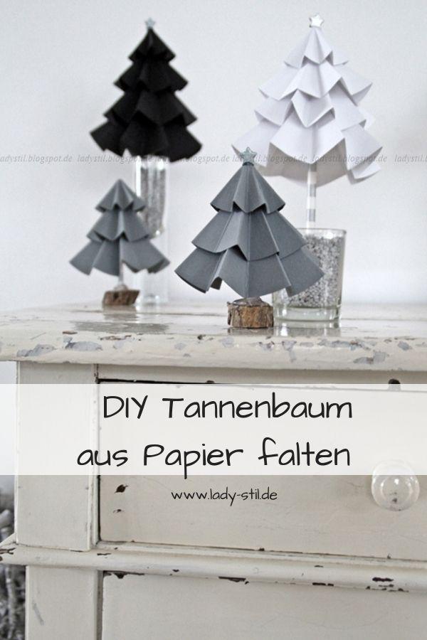 DIY Tannenbaum aus Pappe   – Anne Marie Baagø Lorenzen