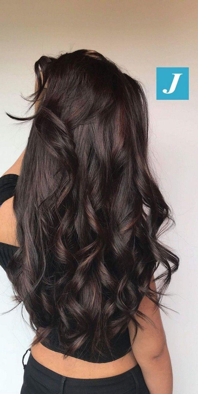 40 Top Balayage Für Dunkles Haar Schwarz Und Dunkelbraunes Haar Balayage Farbe 2019 Ba Dark Brown Hair Balayage Brown Hair Balayage Hair Styles