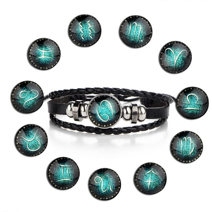 12 Constellation Bracelet For Men and Women