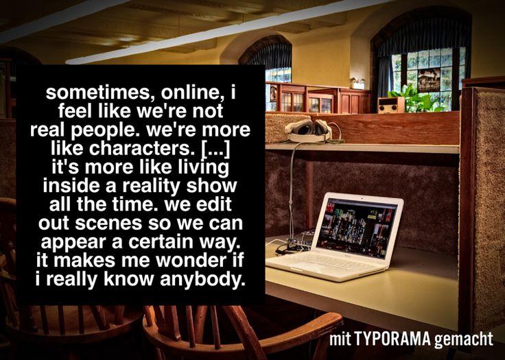 """One of my favorite quotes from Katie Kacvinsky's """"Awaken""""  Instant erstellt mit #typorama"""