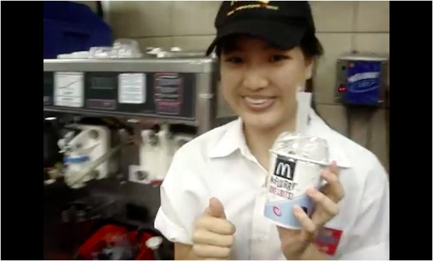 Finally, the Mystery of McDonald's McFlurry Spoon Revealed  - Cosmopolitan.com
