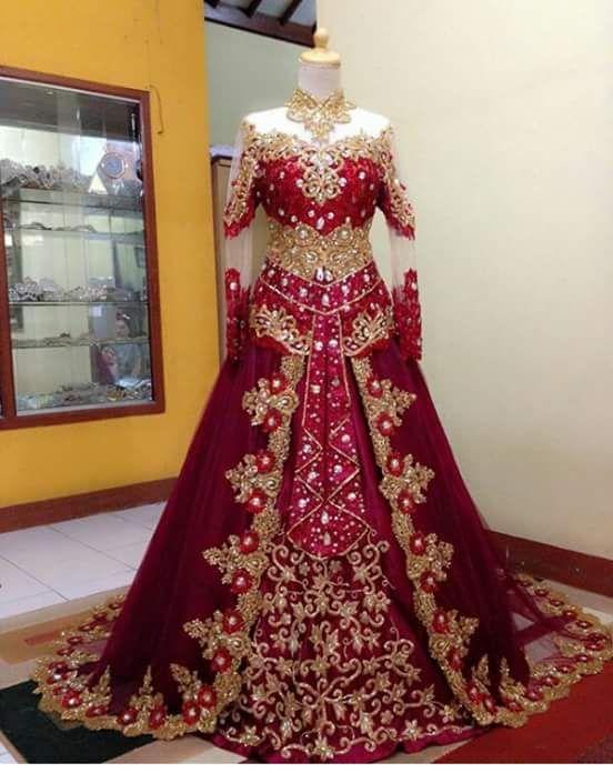 Trend Kebaya Muslim bride 2016