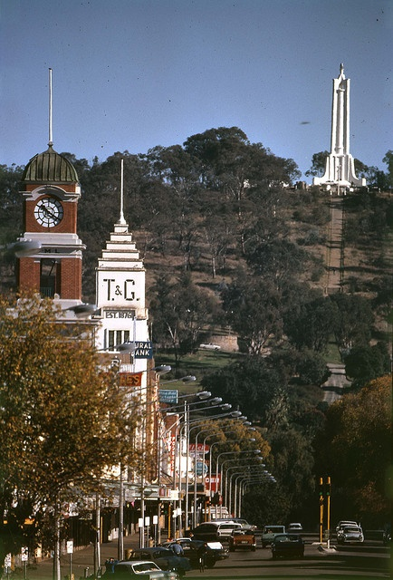 Dean Street Albury 1970s- most amazing picture I've seen of Dean St!