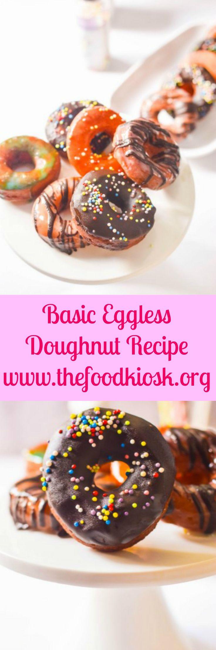 Basic Eggless Doughnut