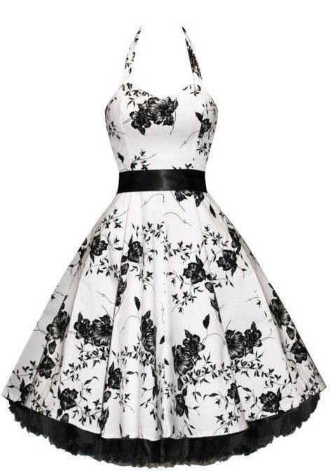 vingtage style Prim and Proper Floral Bouquet Dress
