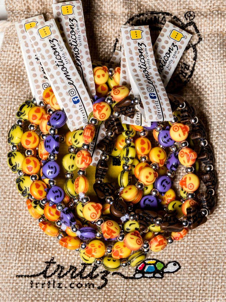 TRRTLZ Emojiz Original Bracelets (10 Pack)