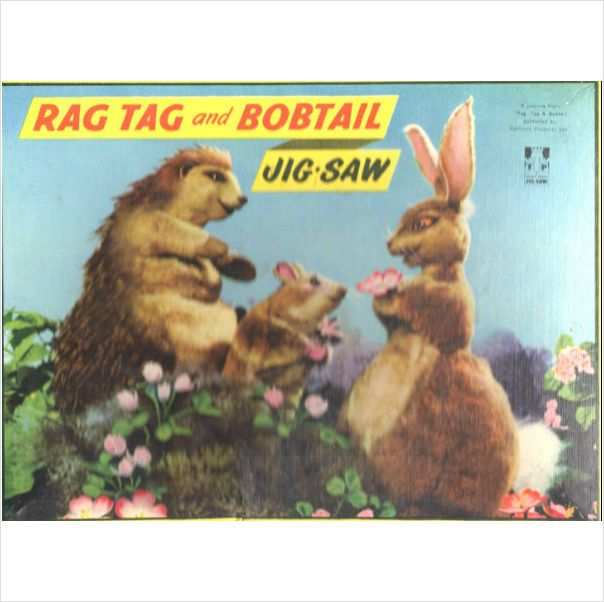 Rag Tag And Bobtail 48 Piece Tower Press Vintage Jigsaw