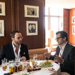 Table for Three: Tom Ford Ben Mankiewicz and a Fashion-Film Vortex