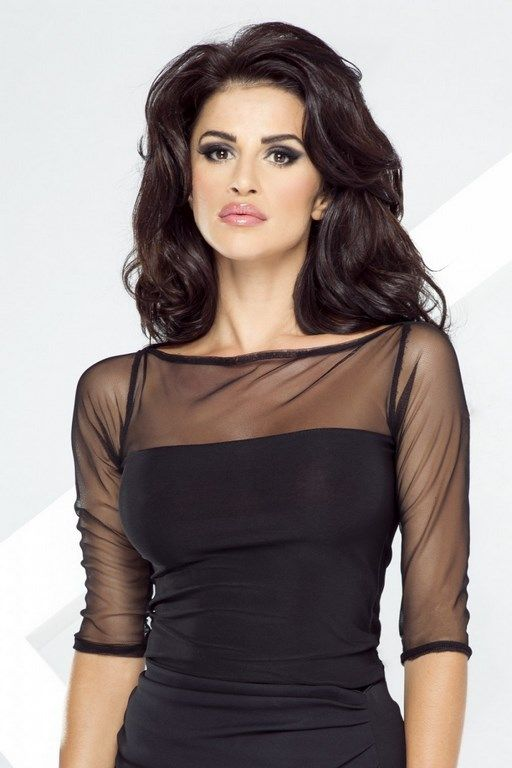 Black women's blouse perfect for a party