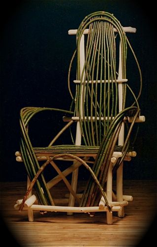 399 Best Bent Willow Furniture And More Images On Pinterest Rocking Chairs Plant Stands And