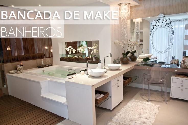 381 best images about Decoração on Pinterest  Interior, Architecture and Hom -> Banheiro Moderno Retro