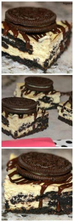Oreo Cheesecake Squa Oreo Cheesecake Squares - Hugs and Cookies...  Oreo Cheesecake Squa Oreo Cheesecake Squares - Hugs and Cookies XOXO Recipe : http://ift.tt/1hGiZgA And @ItsNutella  http://ift.tt/2v8iUYW