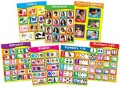 Early Learning Chartlet Set CD-144131 Carson Dellosa Social Skills | K12 School Supplies | Teacher Supplies