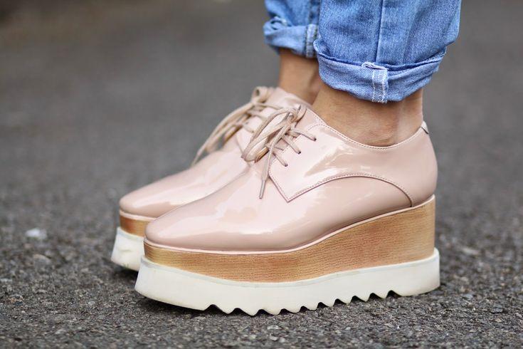 platform oxford shoes  | Sandra Bendre