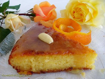 Tante Kiki: Πορτοκαλόπιτα με σιμιγδάλι σε δύο εκδοχές...