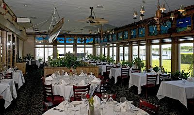 waterfront dining with a view on at snapper inn oakdale