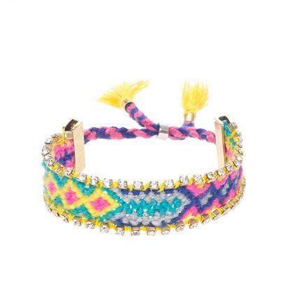 J.Crew - Girls' sparkle friendship bracelet