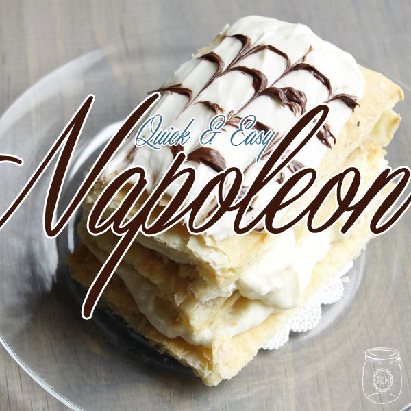 Homemade Napoleons are such a treat and not as hard as you might think! The perfect dessert for anyone and I show you how to make them with ease!