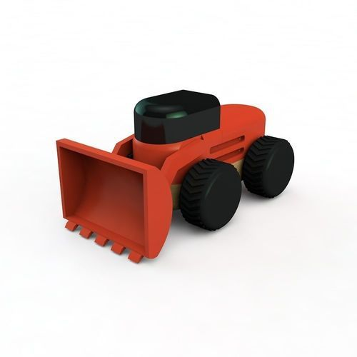 front loader | 3D Print Model bulldozer, front loader, cran, toy, cnc, art, design, merzliakovdenis
