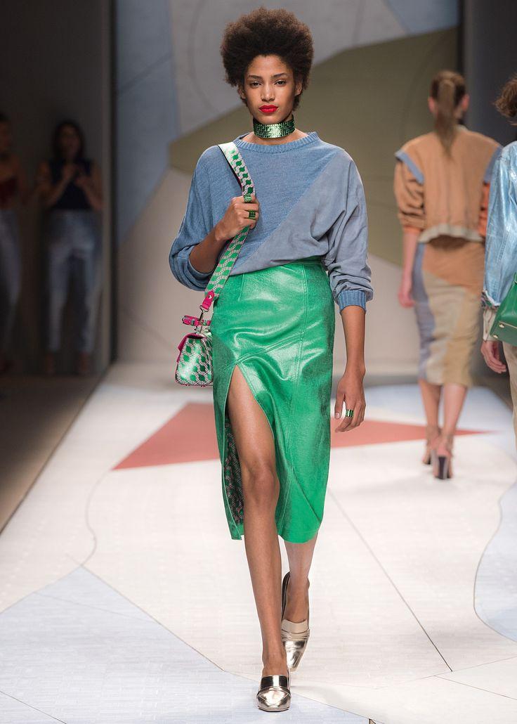 TRUSSARDI Womenswear Spring Summer 2017 Runway Show #ElegantlyPop #Trussardi