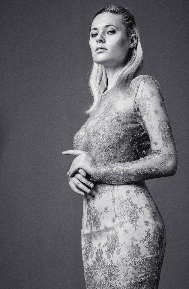 Nora Sarman / the Beyonce dress / photo Reka Liziczai