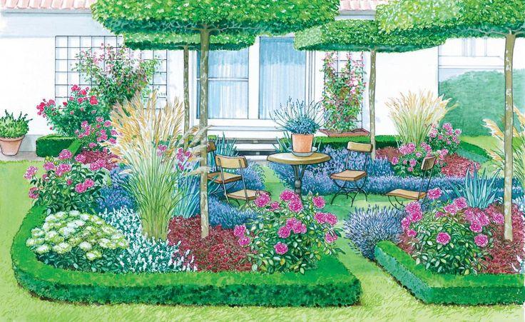 Vom Rasen zum Garten