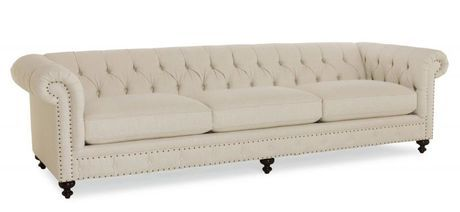 <p><span>The Layla Club Sofa is an excellent sofa fit for wide rooms and great for entertaining guests in the living area. Constructed using sinous spring technology and Antique Brass / Molasses.</span></p>