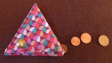 DIY idée cadeaux : confectionner un porte-monnaie en tissu