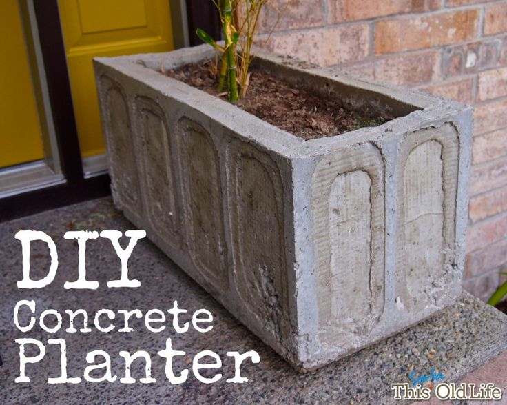 A few weeks back we shared a few ideas for making an entry more welcoming, in which we included some photos of a concrete planter we made and a promise to follow-up with a how-to. We're here today ...