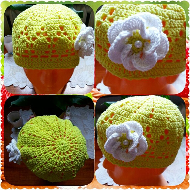 Crochet beanie 😊