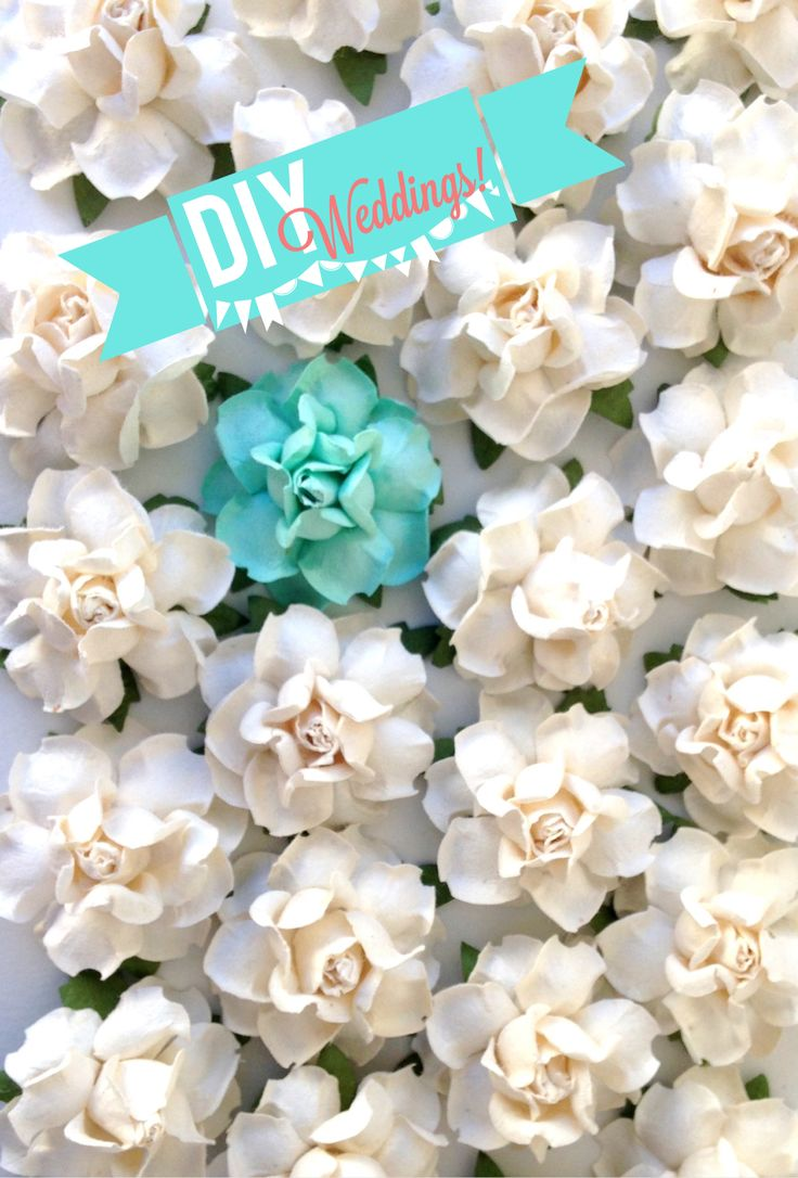 "Our most popular DIY Project supply! These gorgeous handmade flowers measure 1.5"" across, and are made of premium-quality artisan craft paper. Imagine endless beautiful possibilities for wedding & bri"