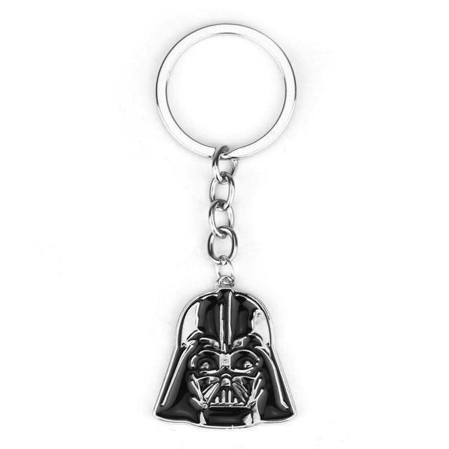 Star Wars Inspired Black Stormtrooper Keychain Metal Key Chain Gift