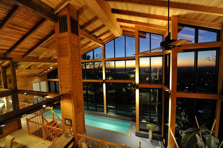 Cool Spaces - Peter and Joyce Pryor' s cool indoor pool addition on Green Mountain. (Bob Gathany/bgathany@al.com)