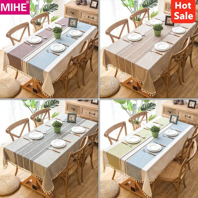 Online Shop Modern Decorative Table Cloth Tassel Iace Rectangle Tablecloth Home Kitchen Table Cloths Party Banquet Dining T Manteles Tablecloth Caminos De Mesa