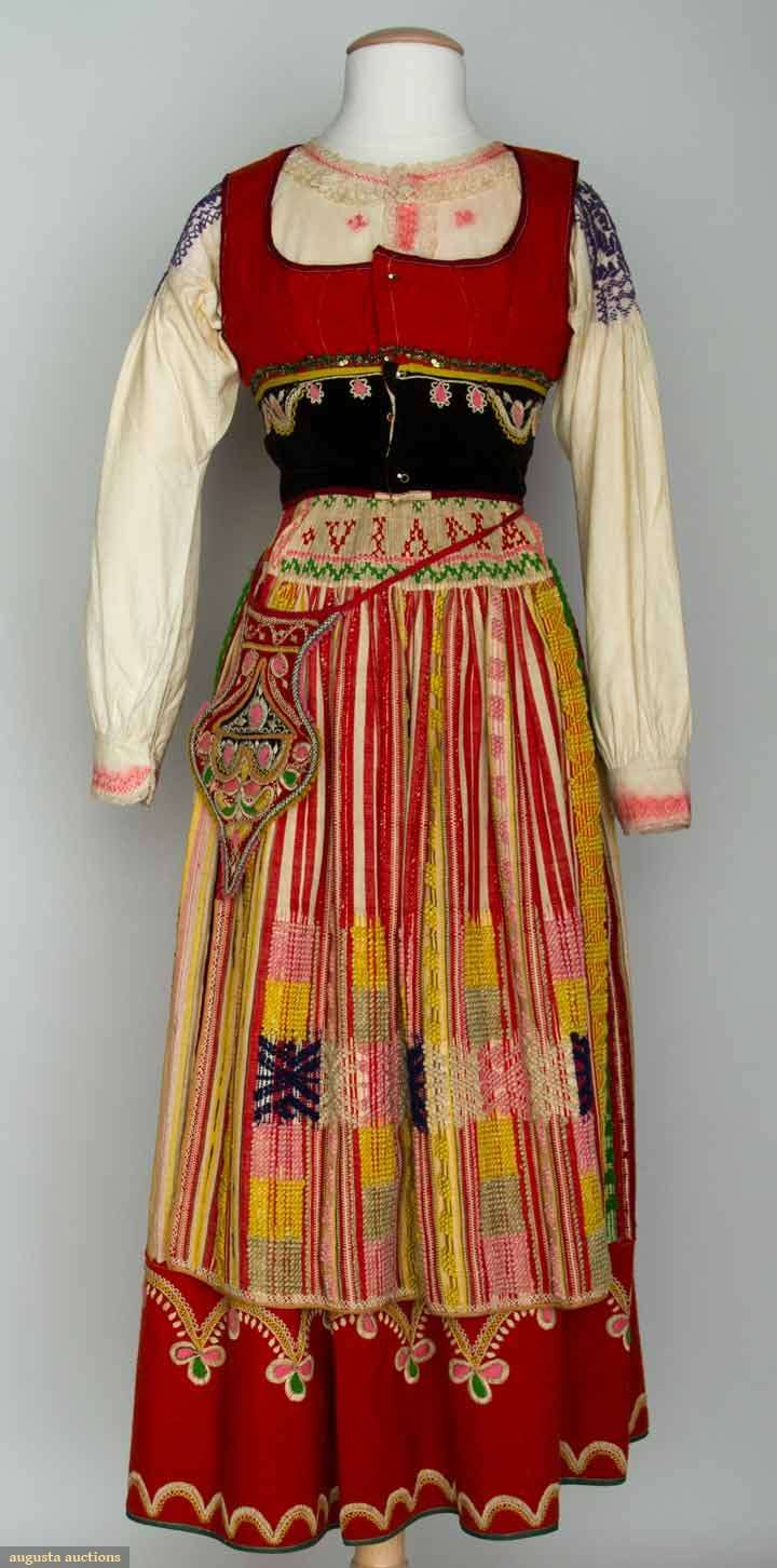 Woman's Folk Costume, Portugal, 19th C, Augusta Auctions, November 13, 2013 - NYC, Lot 389