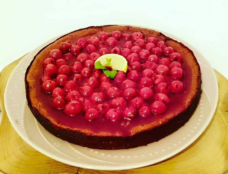Trüffeles csokis gesztenyés torta! Chocolate, chesnut, sourcherry cake!