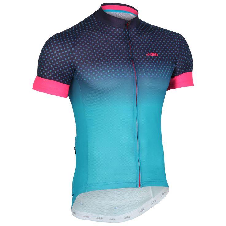Wiggle | dhb Blok Short Sleeve Jersey - Micro | Short Sleeve Cycling Jerseys