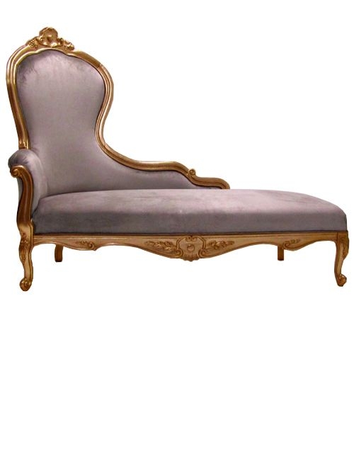 Classic style french chaise longue available in customers for Chaise longue frame