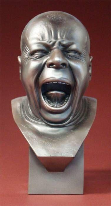 Franz Xaver  Messerschmidt -3D sculpture  -I like the details of the facial features which is very interesting
