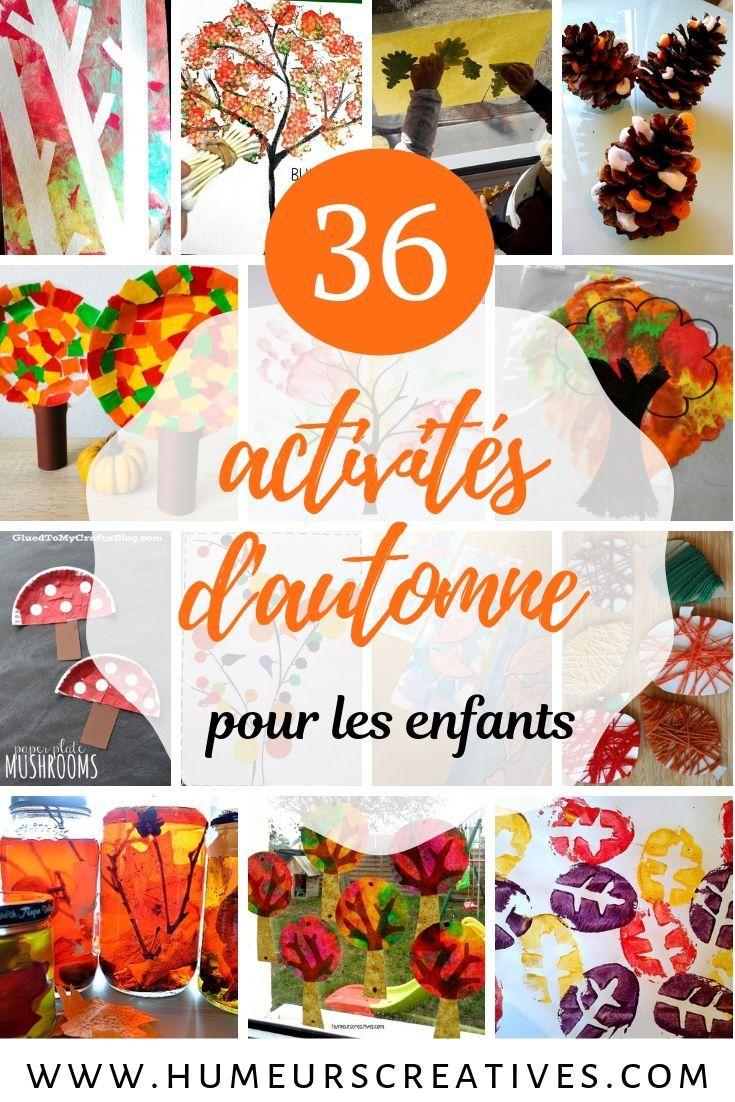36 activités d'automne pour les enfants –