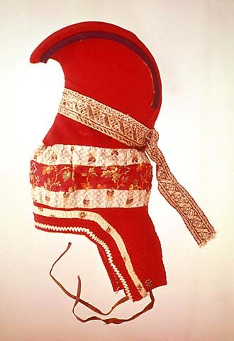 "Traditional Sami Women's Headdress ""sarvilakki"""