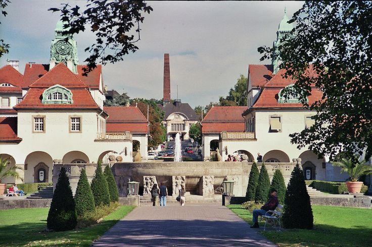 Literally a wellness town- Bad Nauheim is about 30 minutes from my dad's apartment in Germany