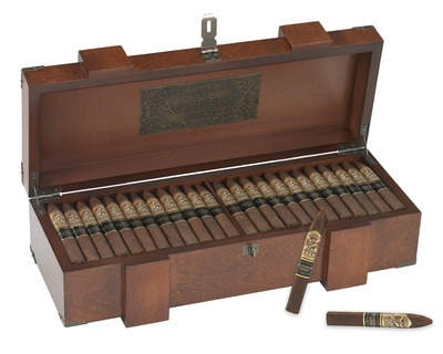 Gurkha Archive.Origin: Honduras Individual Price: £6 approx. This is Gurkha's 20th Anniversary cigar and only 1000 boxes have been made for the world