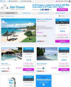 Get-Travel: voyages aux enchères